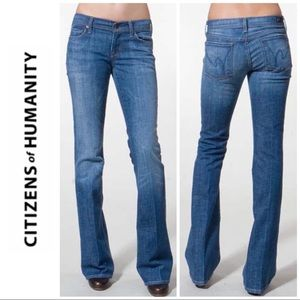 Citizens of Humanity Ingrid Low Flare Jeans 27 4